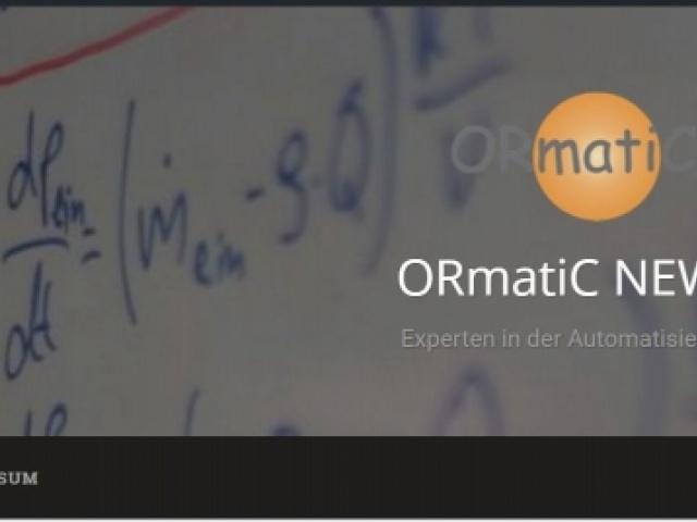 ORmatiC jetzt auch im Blog bei wordpress