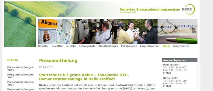 Deutsches Biomasse Forschungszentrum Halle