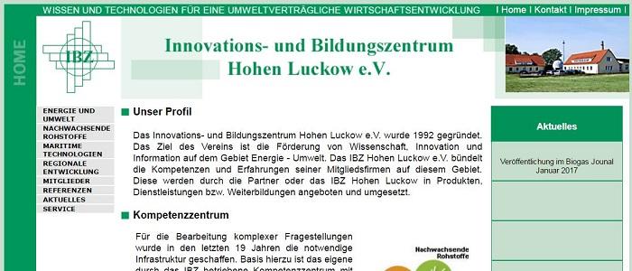 Innovations- und Bildungszentrum Hohen Luckow e.V.
