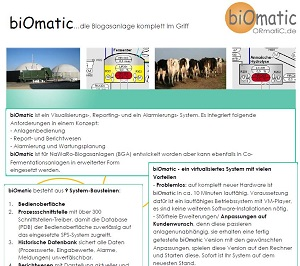 visualisierung biomatic